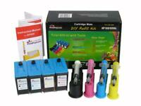400ml Auto Ink Refill Kit for HP 920, HP 920XL (NonOEM)- Pigment and Anti UV Ink