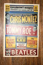 Beatles Tour Poster 1963 Gaumont Wolverhampton Tommy Roe