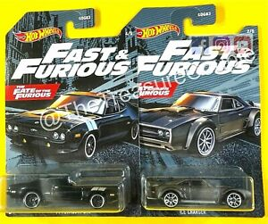 Hot Wheels 2021 - Lot of 2 - '71 PLYMOUTH GTX & ICE CHARGER - A130