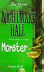 Monster (Point Horror Nightmare Hall), Hoh, Diane, Good Condition Book, ISBN 978