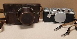 Vintage Leica DRP Ernst Leitz GmbH Wetzlar Germany Camera Body - Nr. 687731