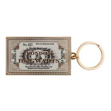 Universal Studios Harry Potter Hogwarts Express Tickey Keychain New Wit Tags