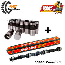 35603 Crow Cams Holden 6 Cyl 149 - 202 Red Blue Black Camshaft & Lifters Kit