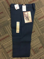 DICKIES PLAIN FRONT TWILL PANTS NAVY STYLE 874