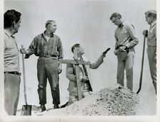 JAMES STEWART DAN DURYEA THE FLIGHT OF THE PHOENIX  ORIG 7X9 TV  Photo X3058