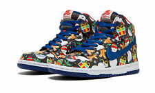 Nike YOUTH Dunk High SB QS (GS) UGLY SWEATER SIZE 7Y, FITS WOMEN'S 8.5 NEW