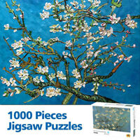 1000 Pieces MINI  Jigsaw Apricot blossom Puzzles Adult Kids Educational Game
