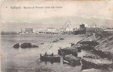 Cartolina - Postcard - Gallipoli - Riviera di Ponente - 1918