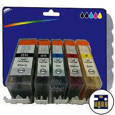 Elegir cualquier 5 Compatible Impresora Cartuchos De Tinta Para Canon PIXMA MX870 [ 520/521 ]