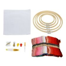 1 Set Diy Embroidery Kit Safe Fine Winding Board Gift Untwist Tool Threads