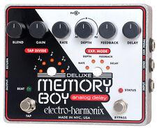 Electro-Harmonix de Lujo Memoria Niño Análogo Retraso Con / Tapa Tempo