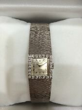 Rolex 18K White Gold Ladies Diamond Wristwatch EXCELLENT CONDITION