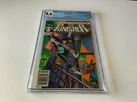 PUNISHER 1 CGC 9.6 WHITE PAGES NEWSSTAND NEWS STAND VARIANT MARVEL COMICS 1987