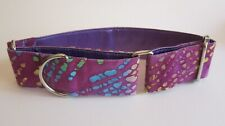 Martingale Collar, 1.5 inch (4 cm) wide for greyhounds