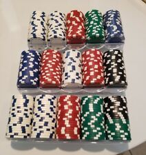 High Quality 11.5g Casino Poker Chips Game Set of 300 Piece 5 Different Colors