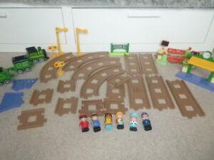 ELC Happyland Train Track and Toy Figures Bundle
