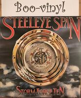 STEELEYE SPAN STORM FORCE TEN 1977 CHRYSALIS A1 & B1 VINYL LP +INSERT Ex Con