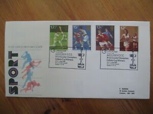 1980 SPORTS GPO FIRST DAY COVER, MIDDLESEX CCC, NW8  H/S