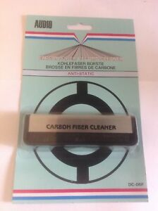 Carbon Fibre Brush Record player turntable needle stylus
