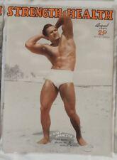 vintage bodybuilding magazine - Strength & Health - 08/1949 - TTBE