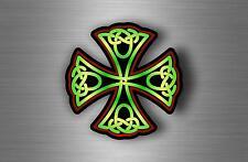 Sticker adesiva adesivi tuning auto celtico trinity triquetra croce knot rA1
