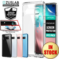 Samsung Galaxy S10 Plus S10e Case ZUSLAB Tough Fusion Clear Shockproof Cover