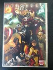 Avengers #1 Vol. 4 (2010) Variant Cover Marko Djurdjevic 1 in 25