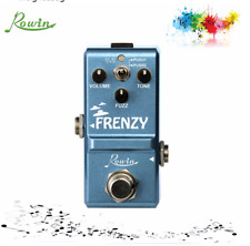 More details for uk stock rowin classic fuzz pedal frenzy effect pedals ln-322 guitar pedal