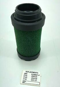 Norgren 4344-01 Pneumatic Filter Element 0.1 Micron Oil Removal F7xC
