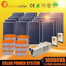 Felicitysolar 5KVA Solar Energy Solar Panel Off/On Grid System Home 10 kwh