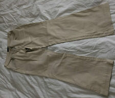Ladies beige/stone boot cut chino style jeans 12 R