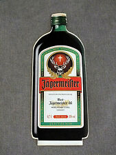 Flaschen Label Sydney Jägermeister 11 cm Aufkleber Sticker