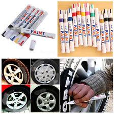 Impermeable Universal permanente Pintura marcador pluma neumático pisada del neumático de goma de Metal