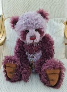 CHARLIE BEARS MOHAIR MR TOOTS. Retired 2013 Collection Excellent condition