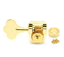 (4) Hipshot LEFTY HB1 Gold American Classic Vintage Style Bass Tuners Machines