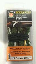 20 Gauge Shotgun & Rifle Hoppe's 9 Bore Snake Cleaner Free Shipping