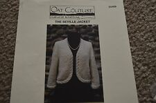 Seville Jacket Oat Couture Knitting Pattern 36-51