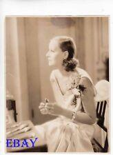 Greta Garbo Wild Orchids VINTAGE Photo