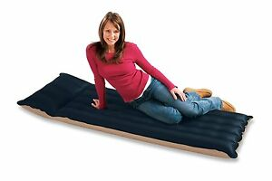 Matelas gonflable Intex 1 place Camping / Piscine / Lit d'appoint  Airbed  Plage