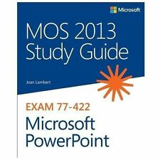 MOS 2013 Study Guide for Microsoft PowerPoint (Paperback or Softback)