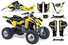 ATV Decal Graphic Kit Wrap For Suzuki LTZ400 Kawasaki KFX400 2003-2008 TOXIC K Y