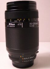 Nikon AF Nikkor 70-210mm f/1.4-5.6 Zoom Lens with RPS UV Filter - Vintage (C13)