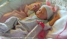 🐰✨Reborn Reallife Baby Girl Oster Hase Bunny U.LKrautter Babypuppe Geschenk✨ 🐰