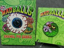 Kidrobot Madballs NEW * Lock Lips * Blind Box Enamel Pin 1/20 Collector Metal