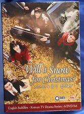 Will It Snow for Christmas? DVD, 2013, 6-Disc Set YA Entertainment BoxSet US NR