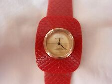 vintage Andre Rivalle watch 17 jewels swiss made unique women 1970's #
