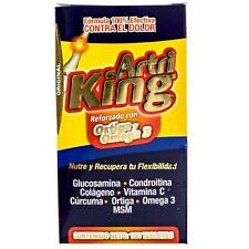 Artri King Ortiga Omega 3 Joint Support Supplement 100 Mexican Original