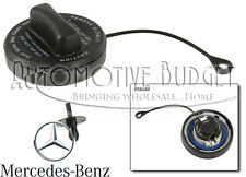 Gas (Fuel) Cap w/Rivet for Various Mercedes Benz Models - NEW OEM
