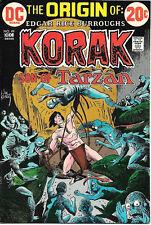 Korak, Son of Tarzan Comic Book #49, DC Comics 1972 VERY FINE