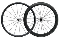 30MM 55MM Carbon Matt Tubeless Clincher Wheelset 700C Road Bike
